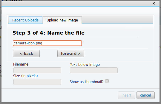 Users forget which file exactly they uploaded. How should they name it then?